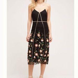 Anthropologie Let Me Be Isolde Sunflower dress, 2